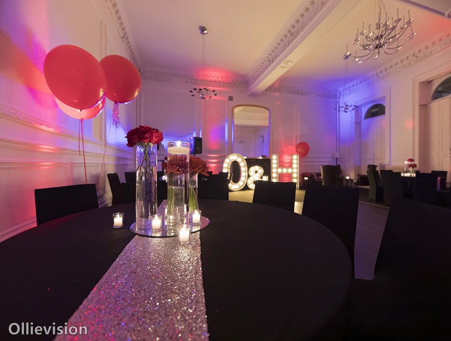 Vegas Themed Wedding Reception Photographer Leeds Weddings Leeds Club