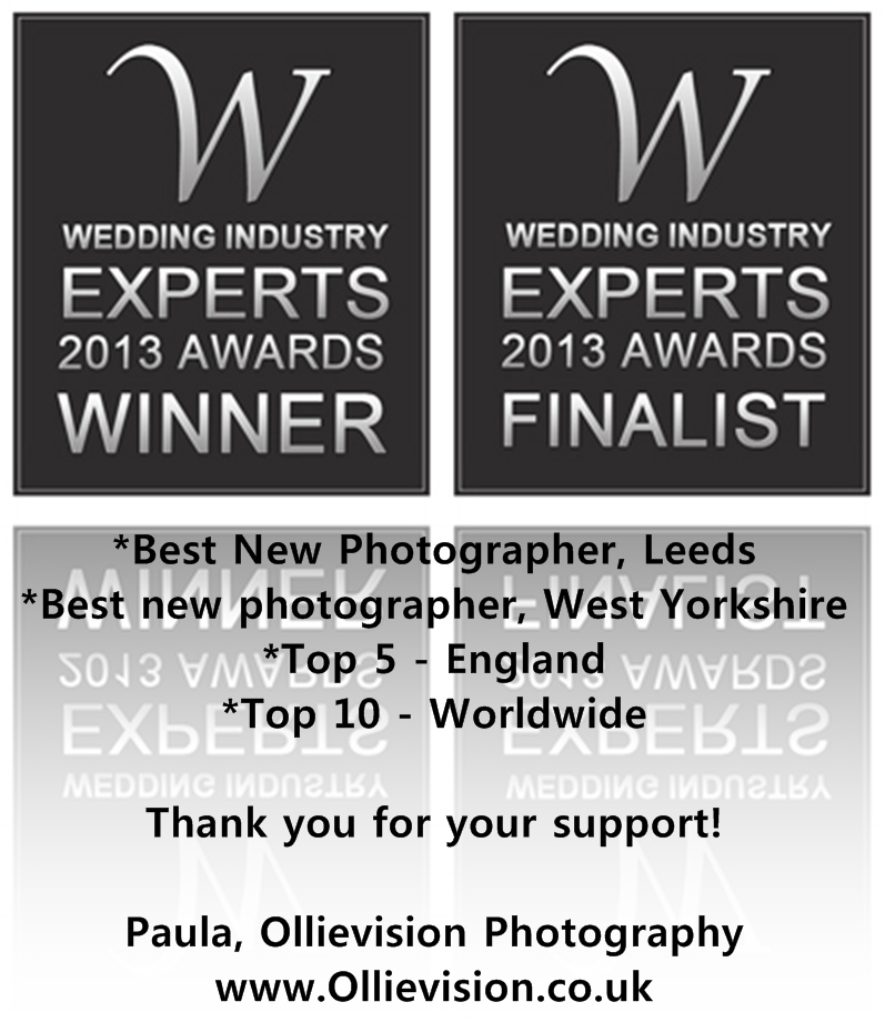Leeds wedding photographer wins award