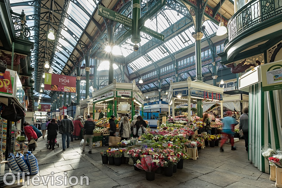 photographs of Leeds markets