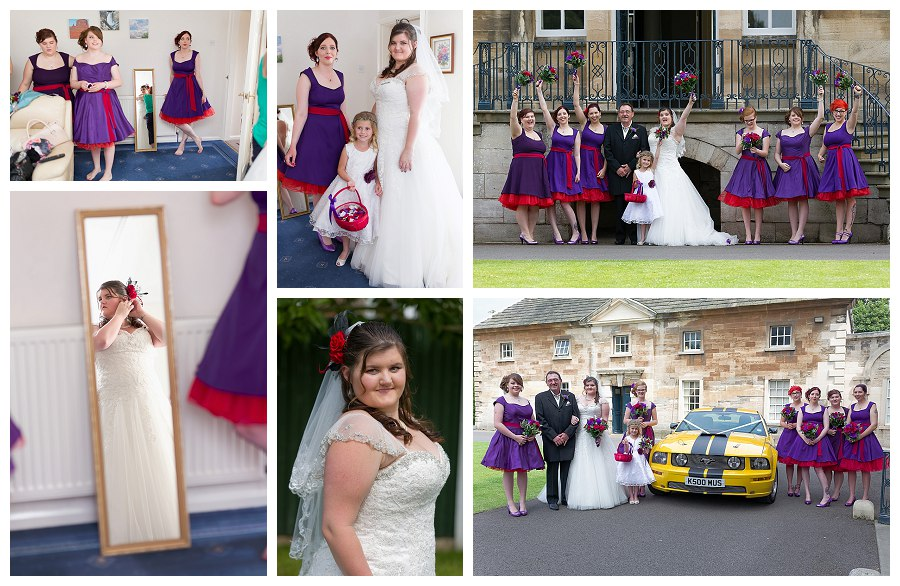 Wedding photography Doncaster, Transformers wedding car hire