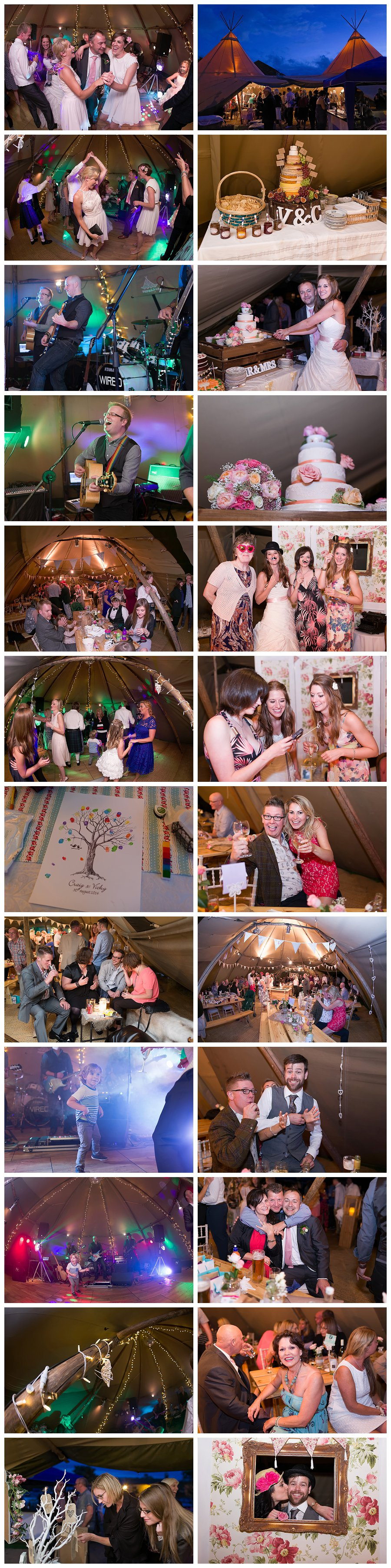 church wedding photographers Meltham,  tipi wedding photographers, teepee wedding photography
