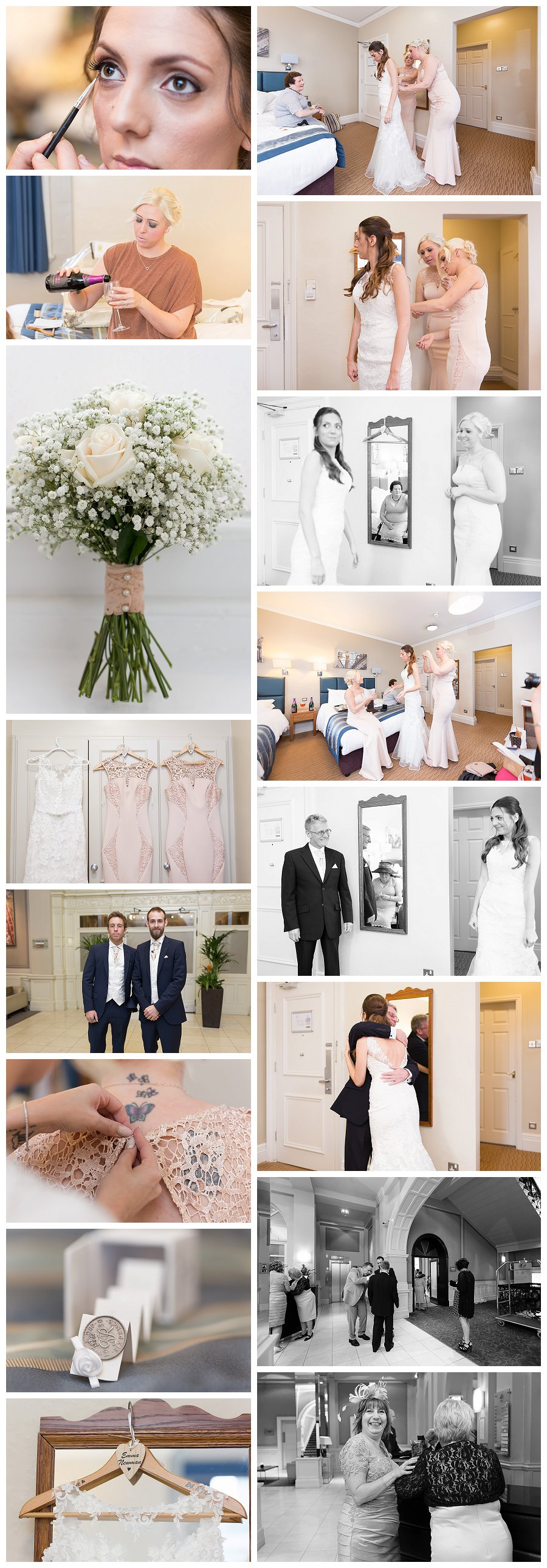 Wedding Photography Met Hotel Leeds, Metropole hotel weddings, bridal suite metropole hotel