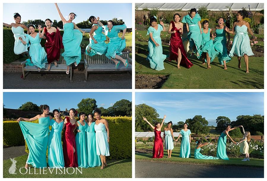 rose garden temple newsam, walled garden temple newsam photos, bridesmaids wedding temple newsam