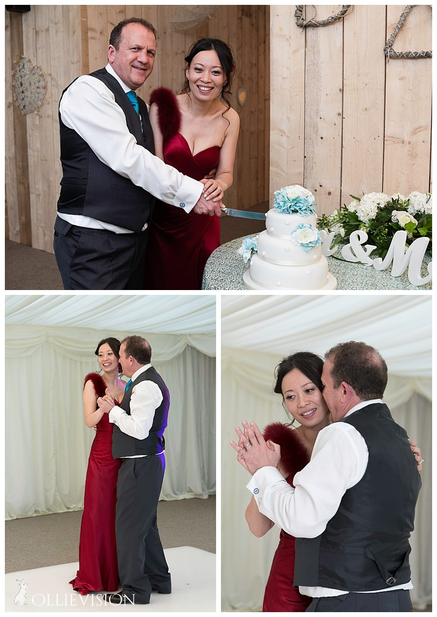 wedding receptions temple newsam marquee, walled garden temple newsam yorkshire, cutting the cake