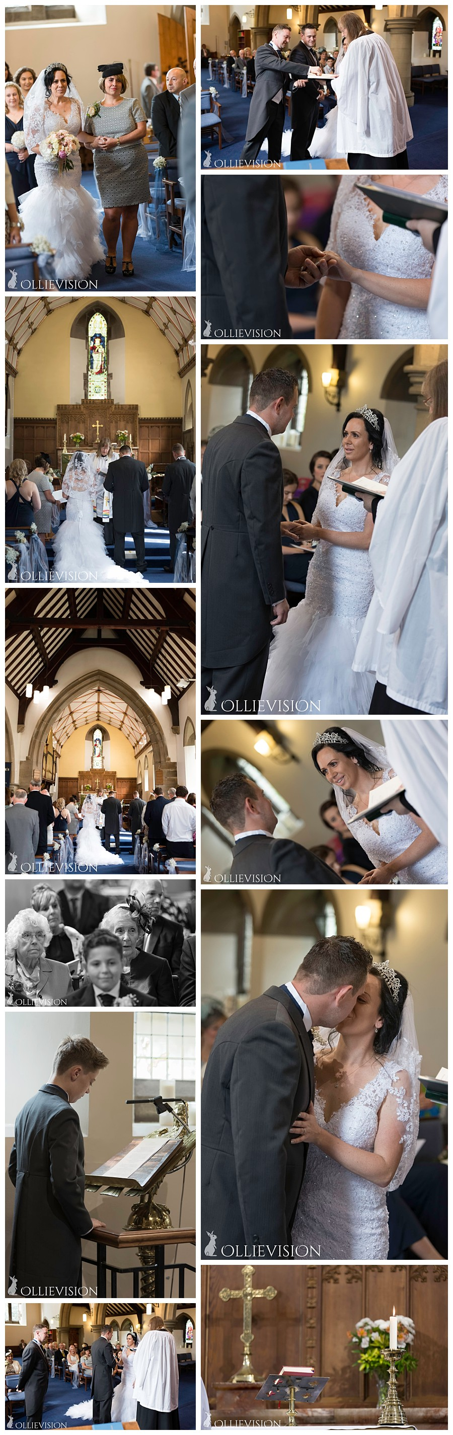 Wedding Photography Harden Church, wedding photographers Bingley, Yorkshire wedding photographers, Harden church interior Bingley