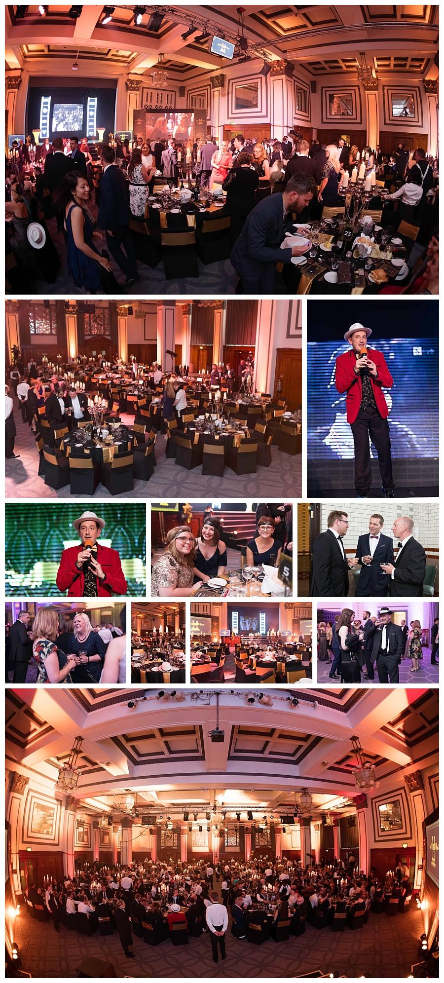 wedding reception ballroom Principal Manchester hotel, event photography ballroom Principal hotel Manchester