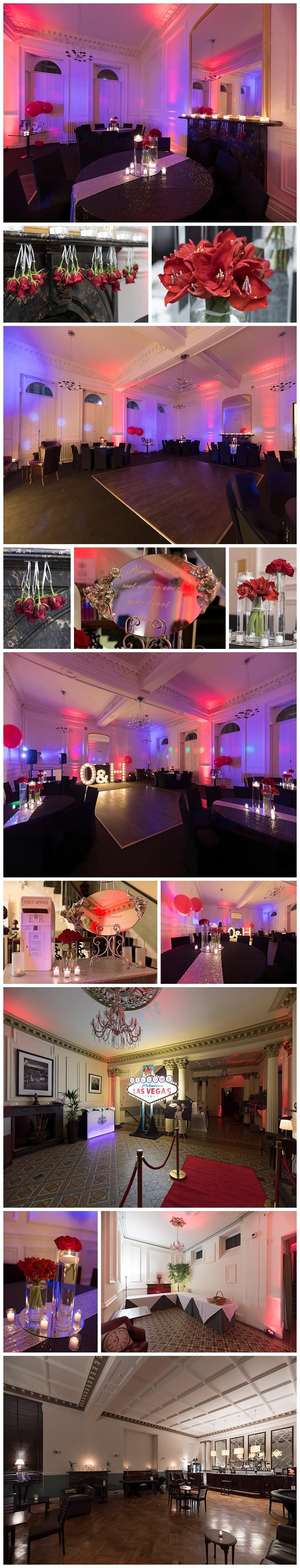 Photographer Leeds Weddings, wedding photography The Leeds Club, vegas themed wedding