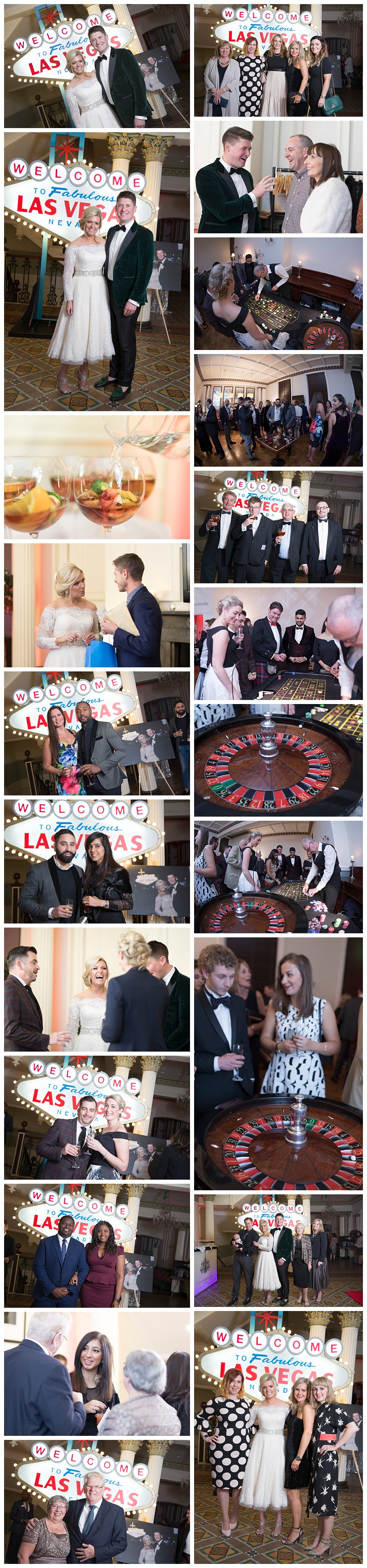 Photographer Leeds Weddings, wedding reception at Leeds Club, giant Las Vegas sign hire