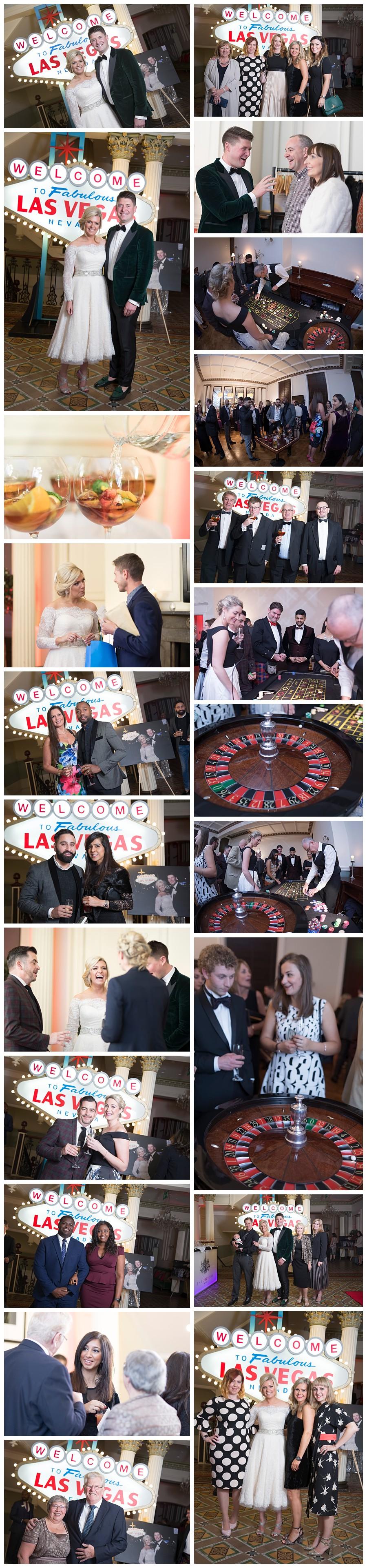 Photographer Leeds Weddings, wedding reception at Leeds Club, giant Las Vegas sign hire