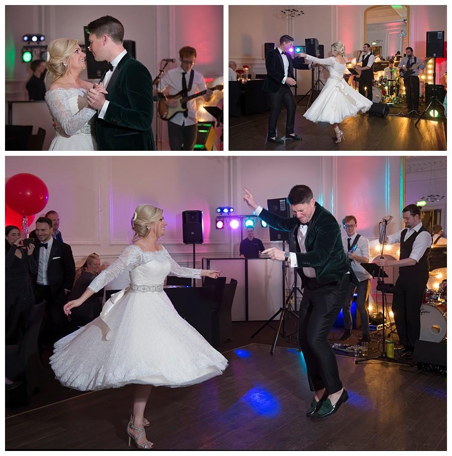Photographer Leeds Weddings, wedding photography The Leeds Club, events at Leeds club photos, first dance at Leeds Club