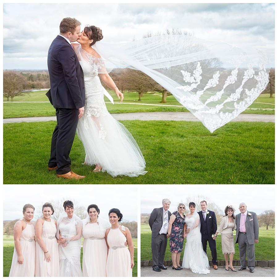 wedding photographers Yorkshire Harrogate, bride & groom photos rudding park hotel